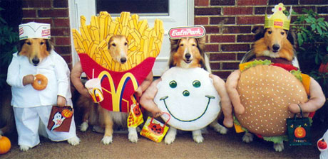 Homemade Food Halloween Costume Ideas Fast Food Halloween Ideas