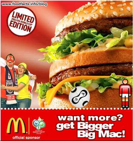 Fast food news mcdonald 39 s bigger big mac - Fast good cuisine big mac ...