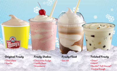 Fast Food News: Move over Frosty! New frozen drinks at Wendy's